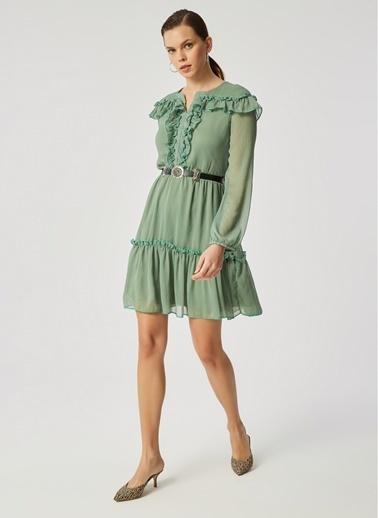 Monamoda Elbise Yeşil